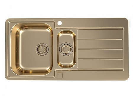 Кухонная мойка LINE MONARCH 10 BRONZE 980X500 ALVEUS
