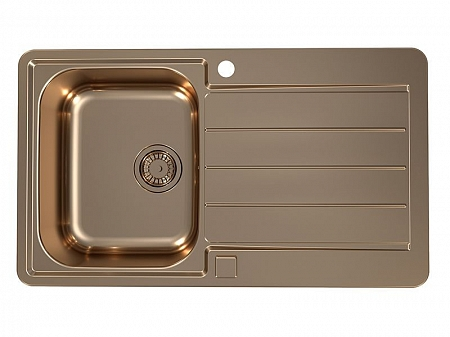 Кухонная мойка LINE MONARCH 20 COPPER 860X500 ALVEUS